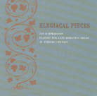 Elegiacal Pieces