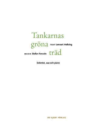 Tankarnas gröna träd